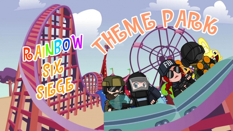 Rainbow Six Siege: разбор карты Лунапарк. Тактики, советы, фишки