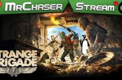 Второй врыв Бригады пацанов | Strange Brigade | MrChaser, Green Penguin, DocentCompas, MrMasim
